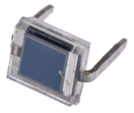 Vishay , BPW34 IR + Visible Light Si Photodiode, 65 °, Through Hole (5)