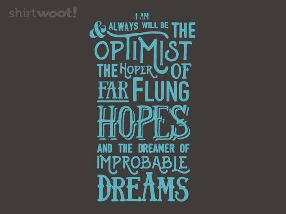 Doctor Optimist T Shirt