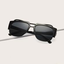 Quadratische Acrylrahmen Sonnenbrille