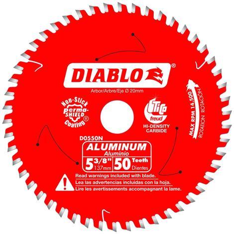 Diablo 5-3/8 in x 50 Tooth Medium Aluminum Cutting Saw Blade