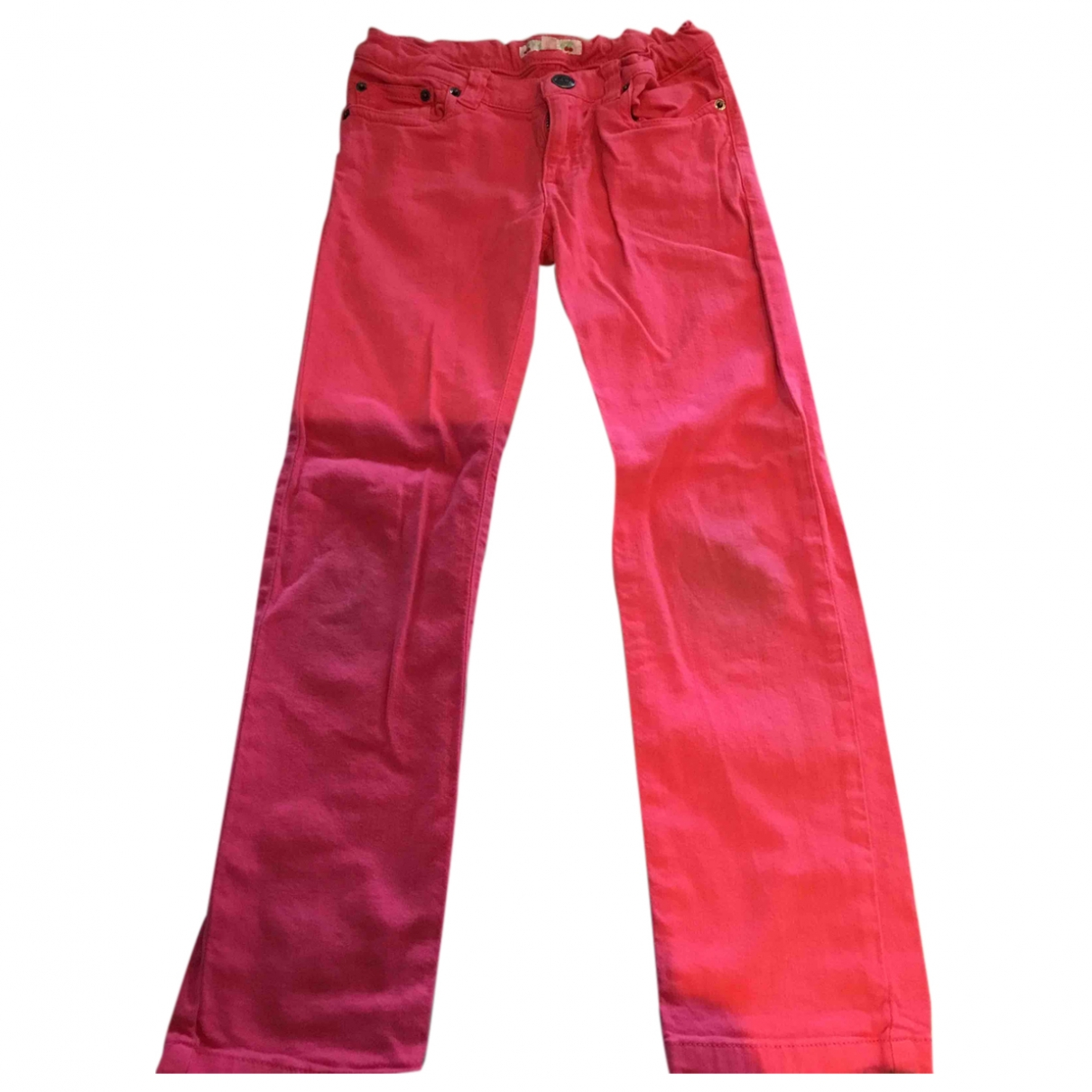 Bonpoint \N Red Cotton Trousers for Kids 6 years - up to 114cm FR