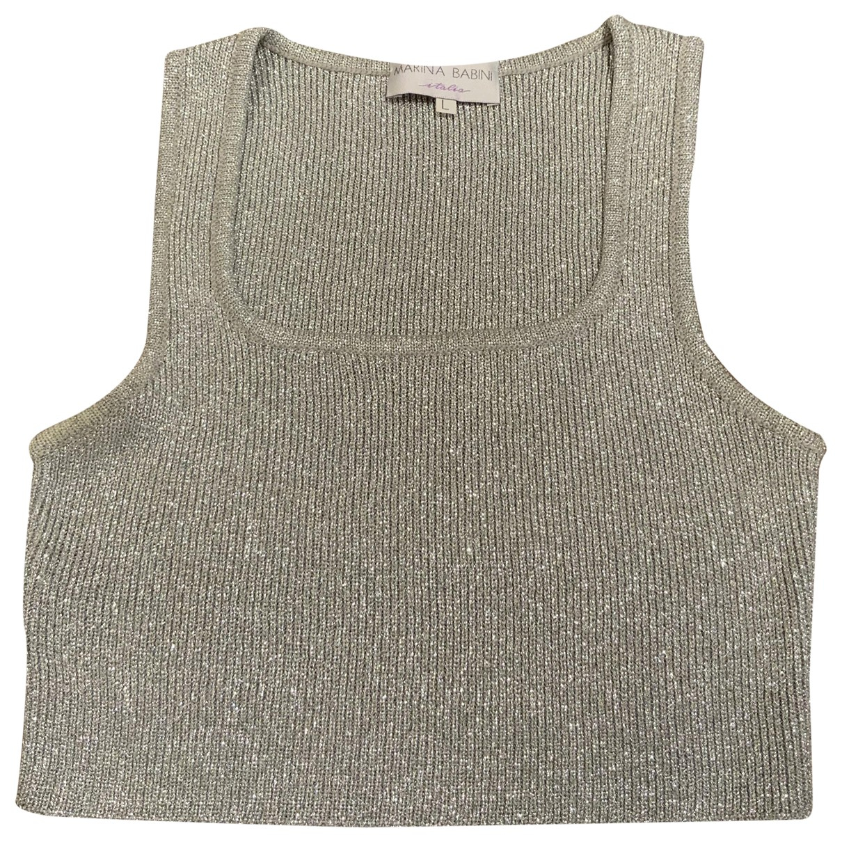 Non Signé / Unsigned \N Silver  top for Women One Size IT