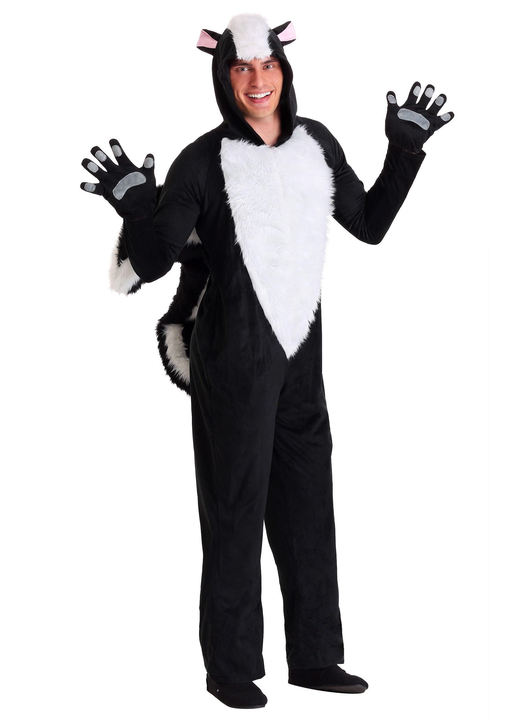 Sly Skunk Costume for Adults