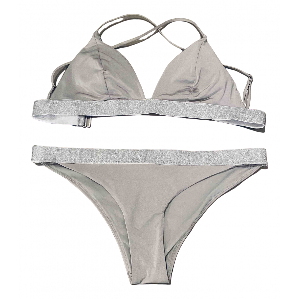 Non Signé / Unsigned \N Grey Lycra Swimwear for Women S International