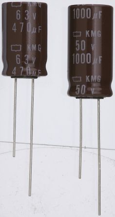 Nippon Chemi-Con 10000μF Electrolytic Capacitor 10V dc, Through Hole - EKMG100ELL103MLP1S (5)