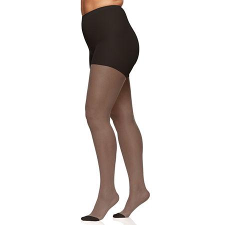 Berkshire Hosiery Silky Sheer Pantyhose Plus, 5x-6x , Black