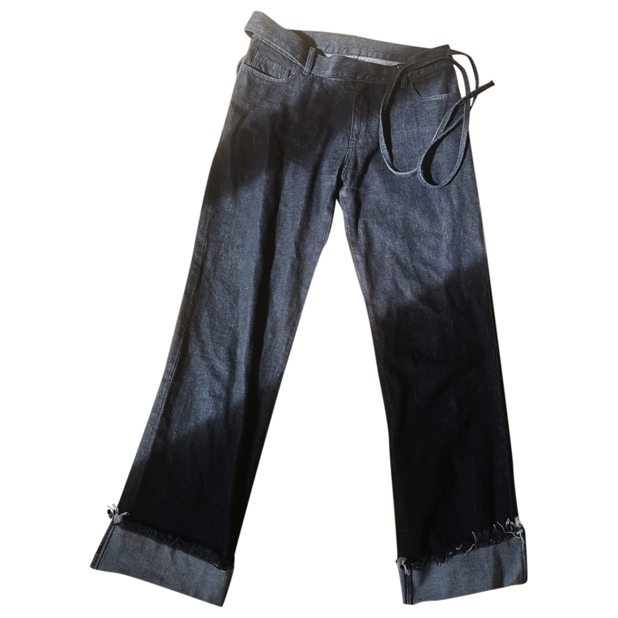 Marques Almeida \N Black Denim - Jeans Jeans for Women 30 US