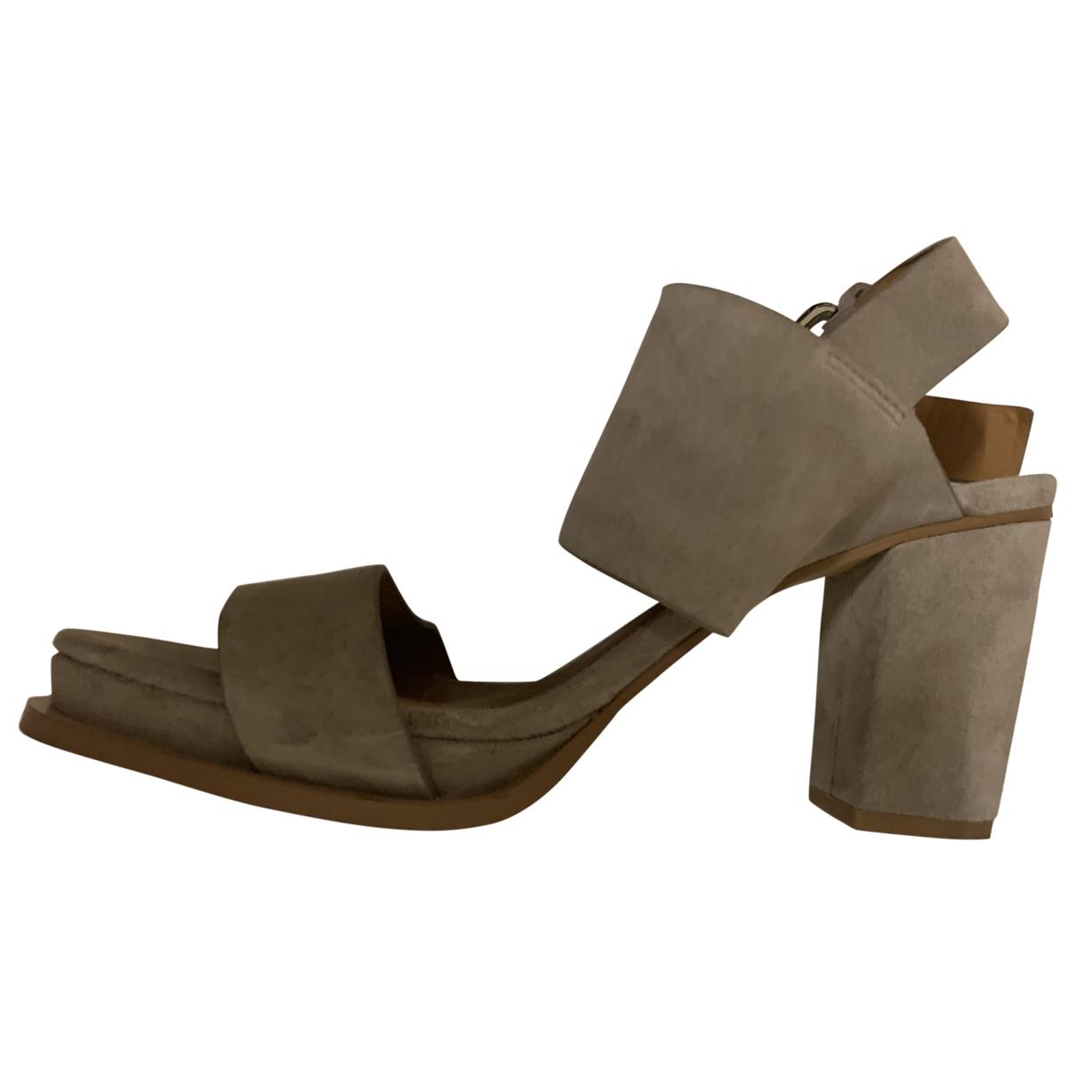 & Stories \N Grey Suede Sandals for Women 39 EU