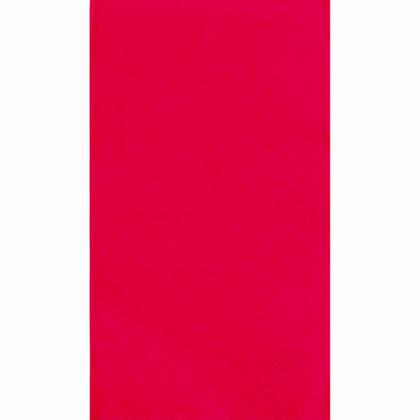 Party Serviettes Serviette Invité Couleur Unie 33 * 40cm 13 * 16In 2-Ply Ruby Red 20 Pcs