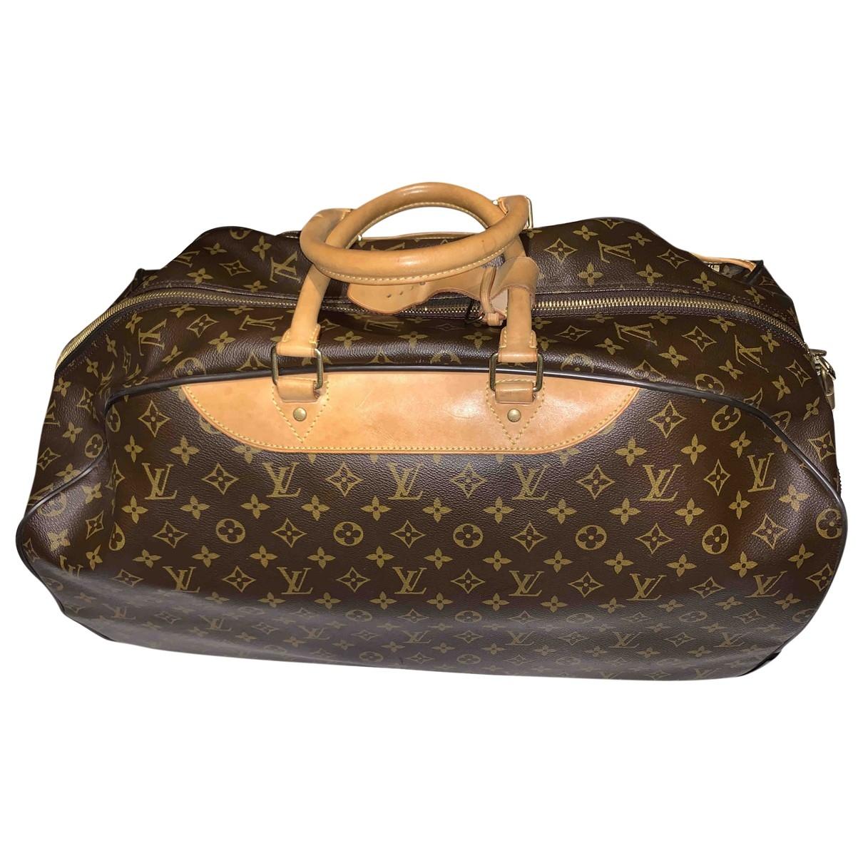 Bolso de viaje Eole de Cuero Louis Vuitton