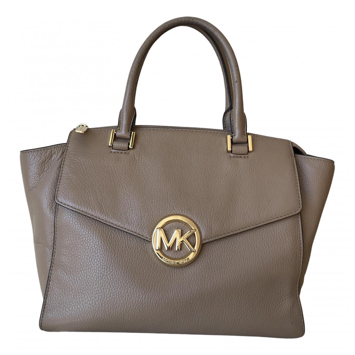 Michael Kors Lillie Beige Leather handbag for Women \N