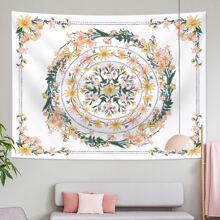 Wreath  Print Tapestry