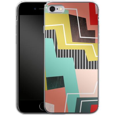 Apple iPhone 6 Silikon Handyhuelle - Color Block I von Susana Paz
