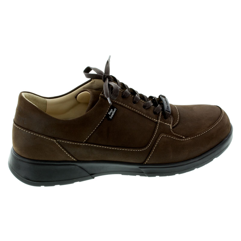 Finn Comfort Brawley Espresso Leather Soft Footbed 85 Uk