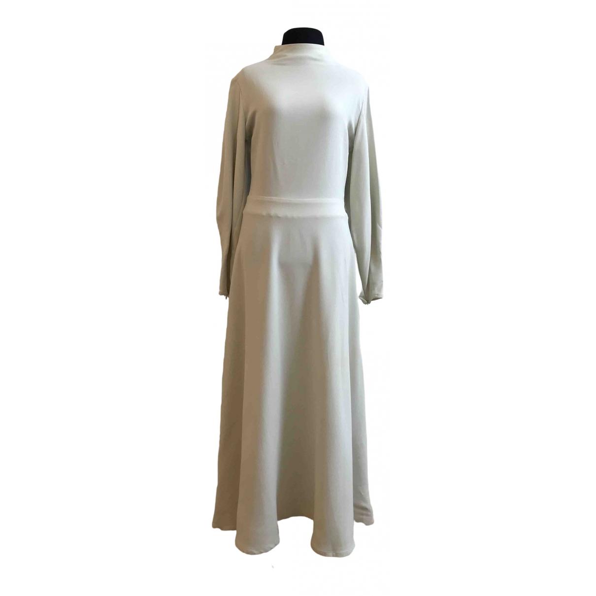 Beaufille \N Kleid in  Grau Synthetik