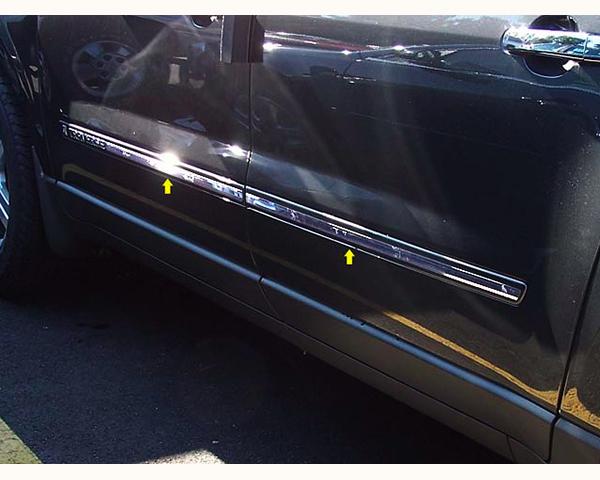 Quality Automotive Accessories 4-Piece Rocker Panel Accent Trim Kit Chevrolet Traverse 2014