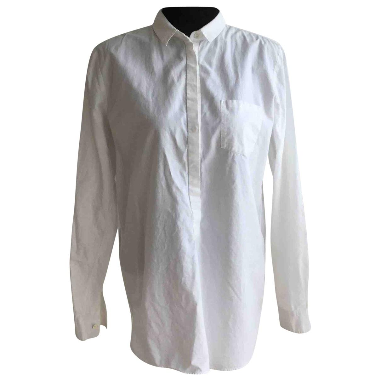 Forte_forte - Top   pour femme en coton - blanc