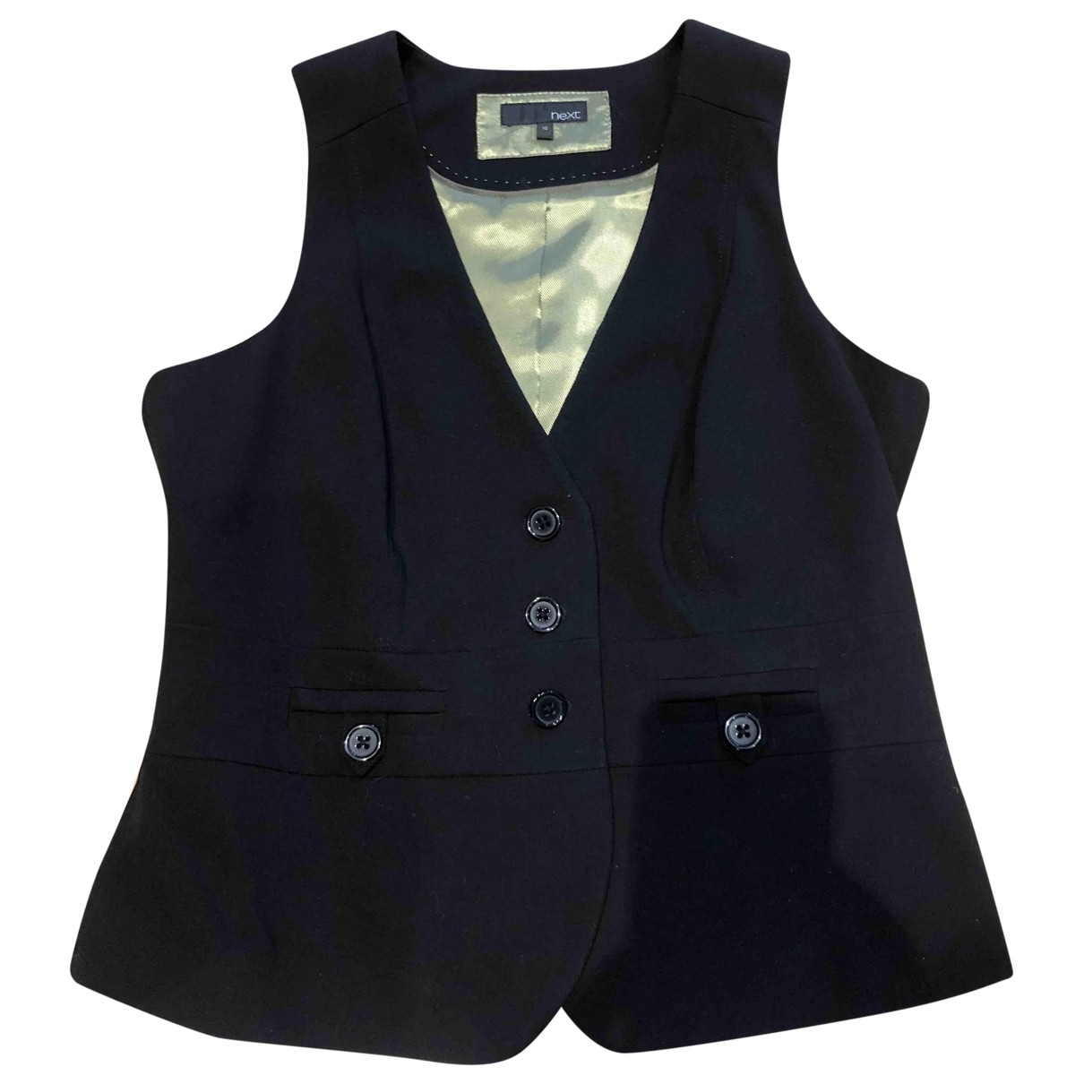 Non Signé / Unsigned \N Black jacket for Women 10 UK