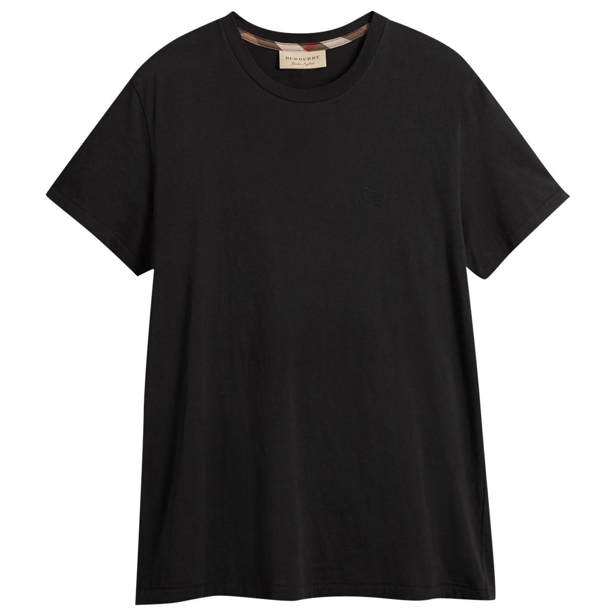 Burberry \N T-Shirts in  Schwarz Baumwolle