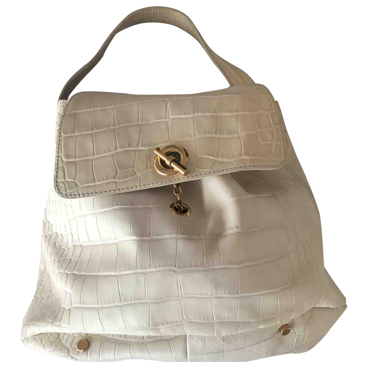 Yves Saint Laurent \N White Leather handbag for Women \N