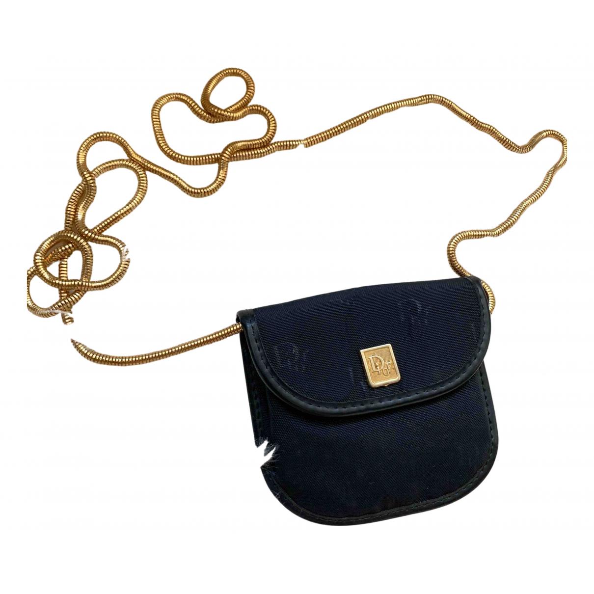 Dior \N Navy Cloth Clutch bag for Women \N