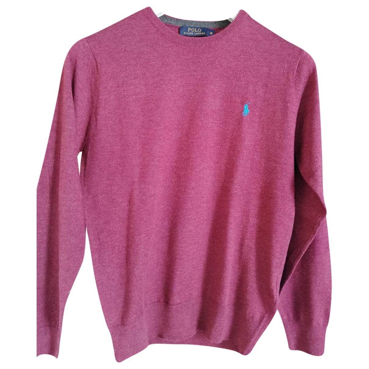 Polo Ralph Lauren \N Pullover.Westen.Sweatshirts  in  Lila Wolle