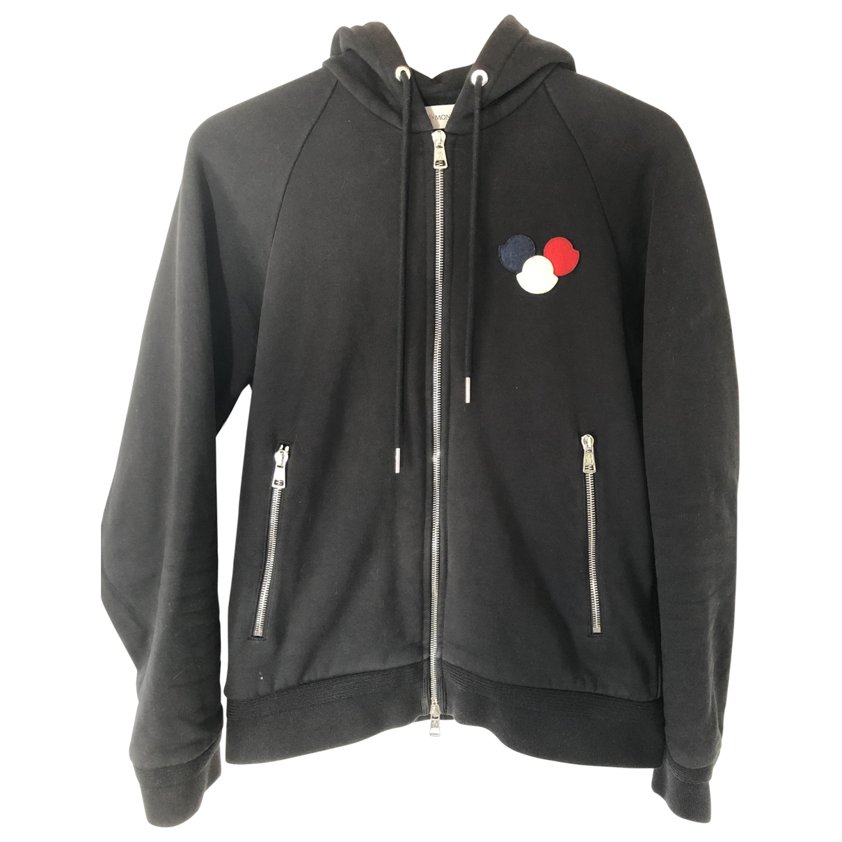 Moncler \N Black Cotton Knitwear & Sweatshirts for Men S International