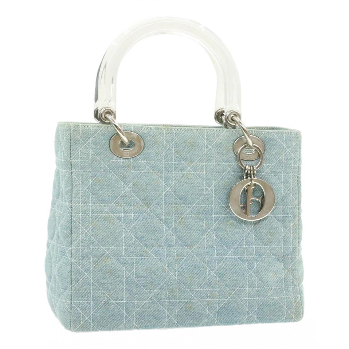 Dior N Blue Denim - Jeans handbag for Women N