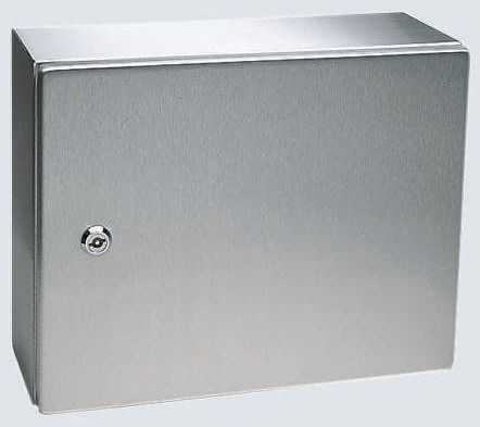 Rittal AE, 304 Stainless Steel Wall Box, IP66, 300mm x 760 mm x 760 mm, Unpainted