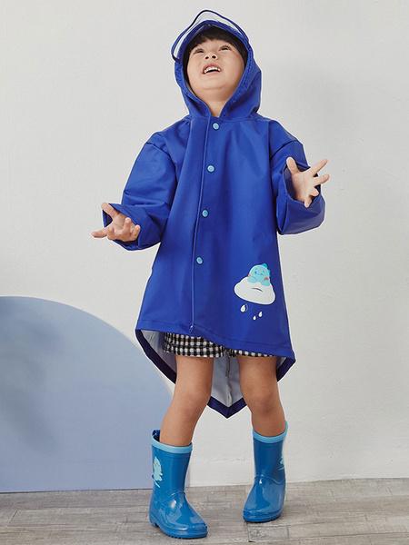 Milanoo Disfraz de Cosplay de Halloween de dinosaurio Poncho de lluvia para niños