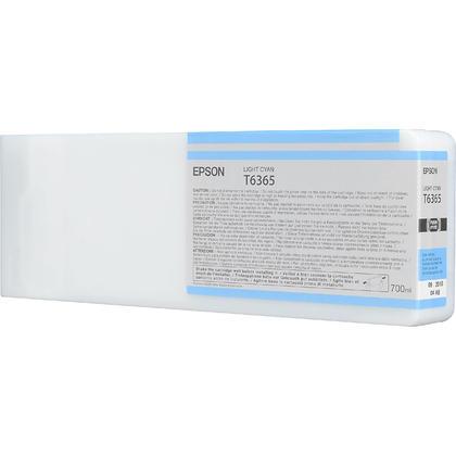 Epson T636500 700ml cartouche d'encre originale cyan clair haute capacité