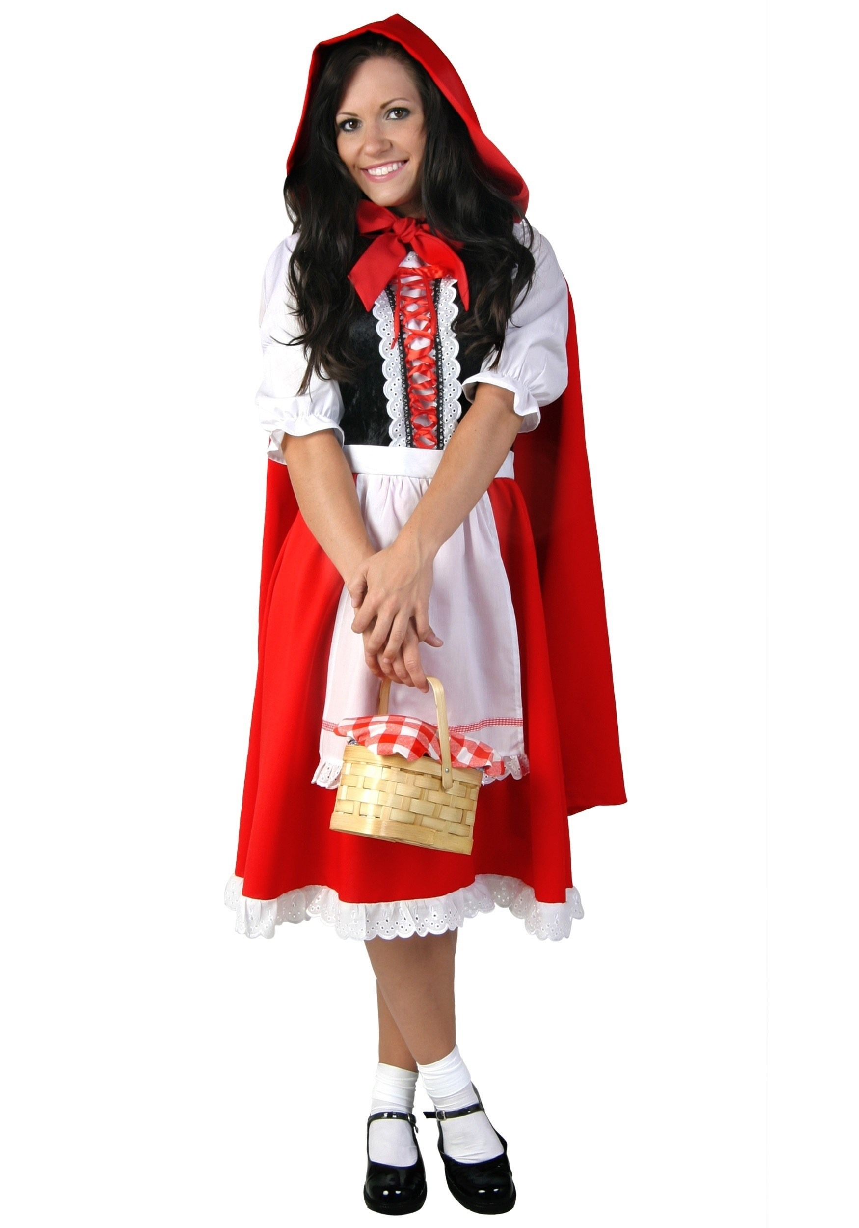 Plus Size Little Red Riding Hood Costume