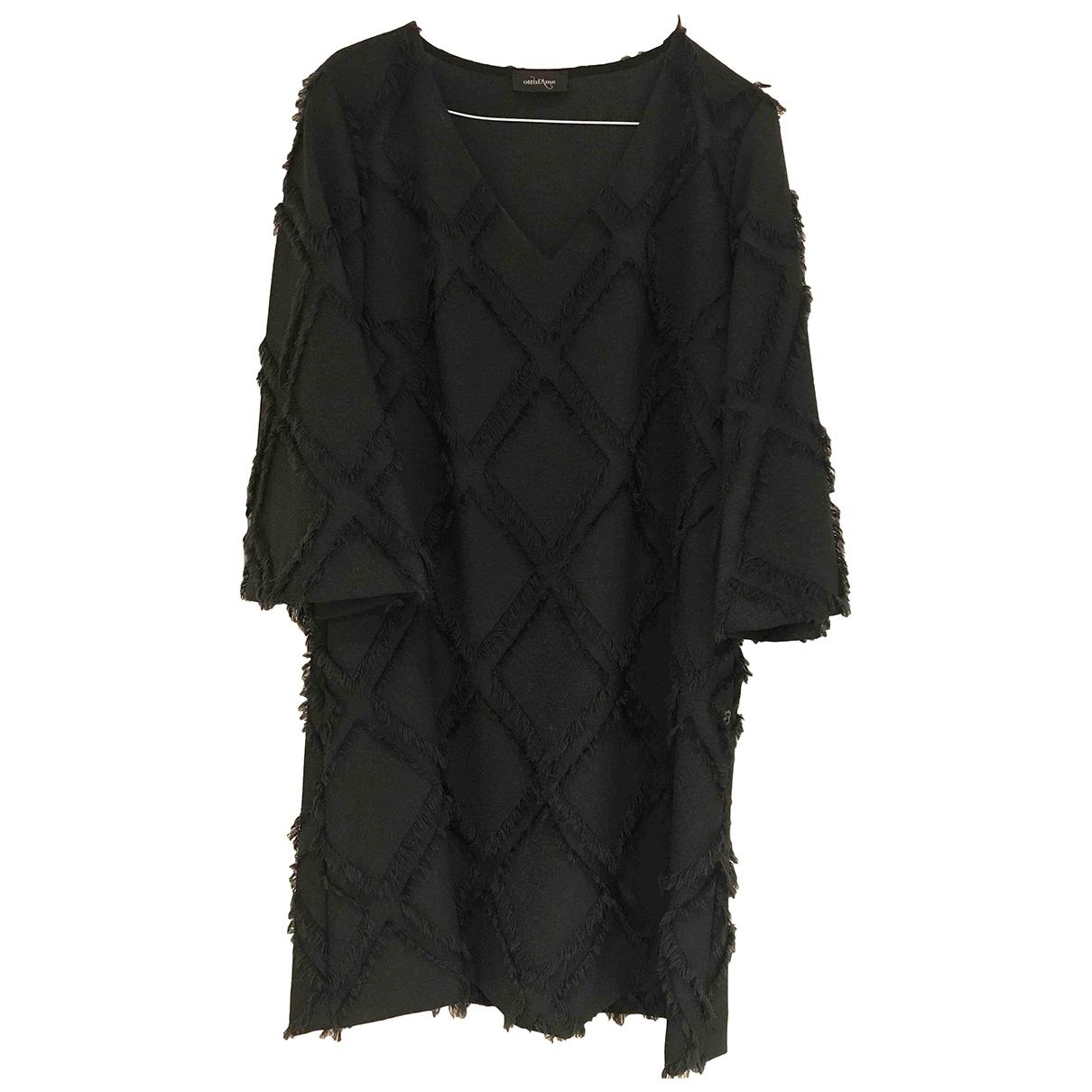 Ottodame \N Kleid in  Gruen Polyester
