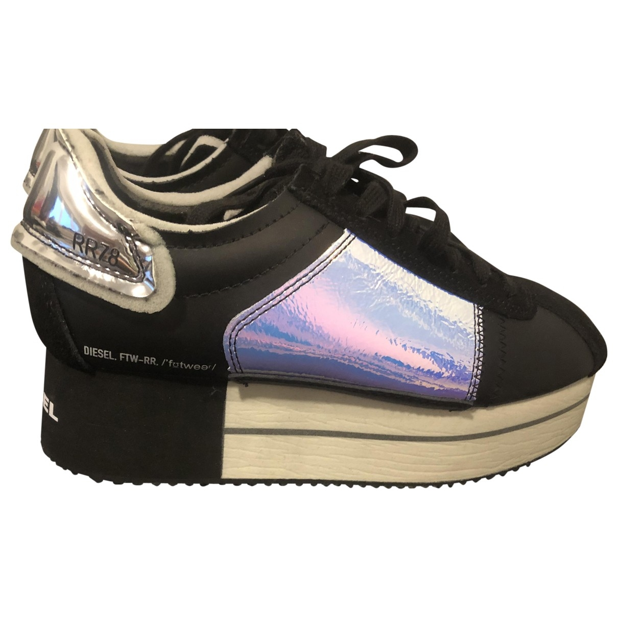 Diesel \N Leather Trainers for Women 38 EU