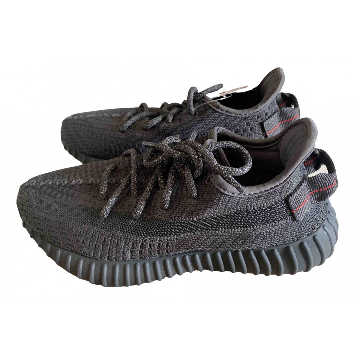 Yeezy X Adidas Boost 350 V2 Sneakers in  Schwarz Leinen