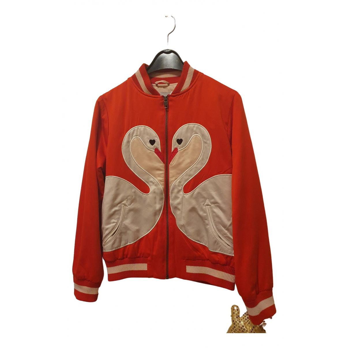 Stella Mccartney - Blousons.Manteaux   pour enfant - rouge