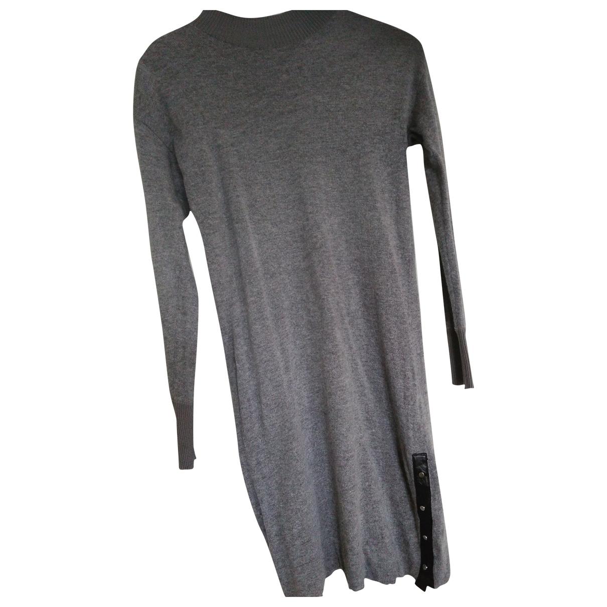 Diesel \N Kleid in  Grau Viskose