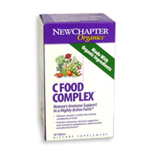 Activated C Food Complex 60 Tabs by New Chapter