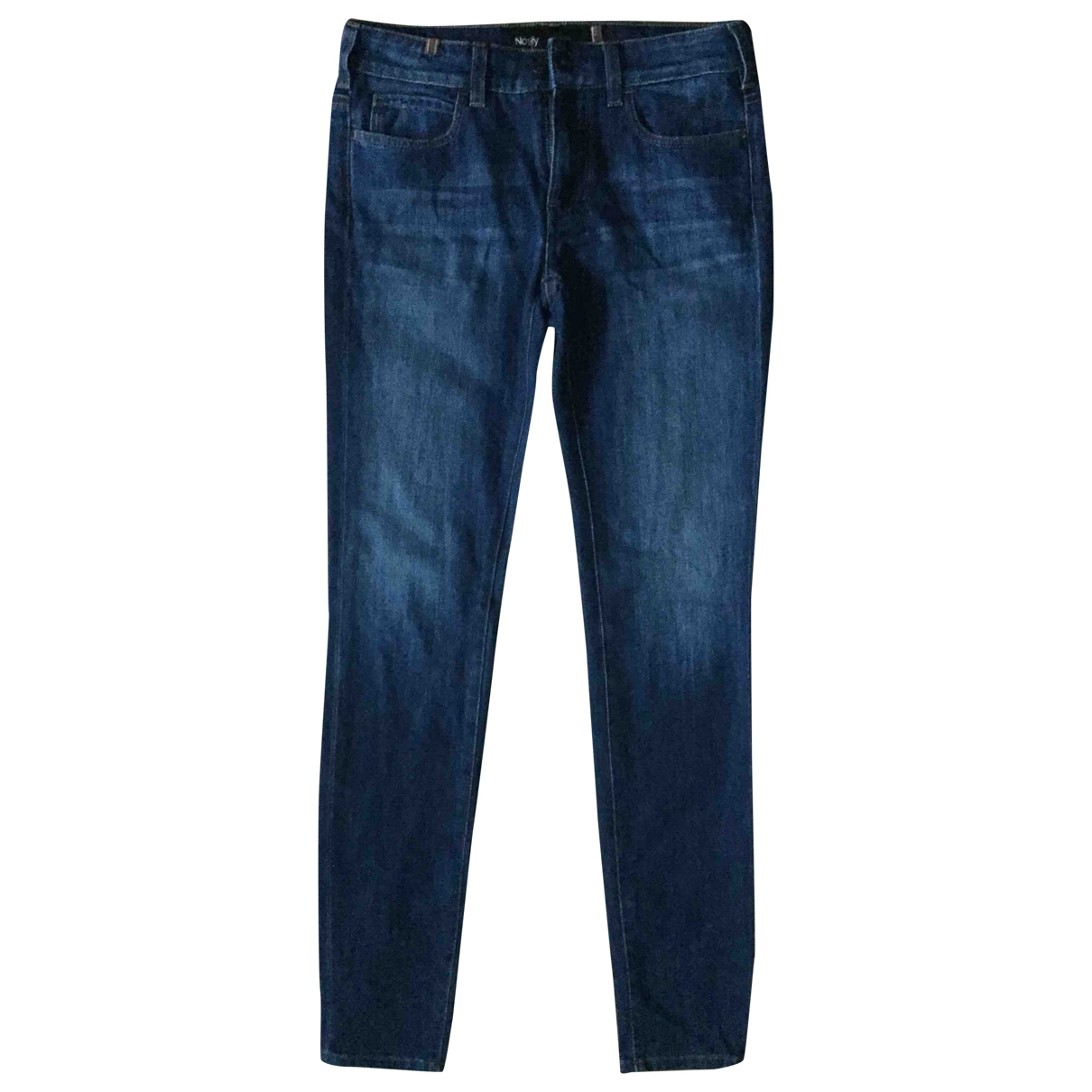 Notify \N Blue Cotton - elasthane Jeans for Women 36 FR