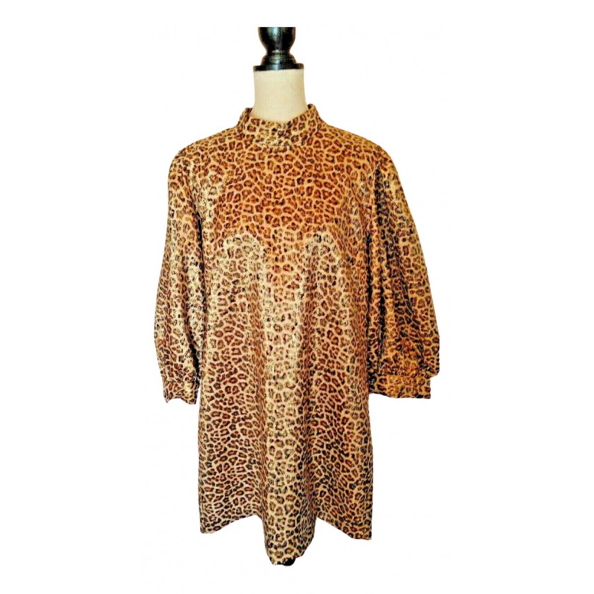 Zara \N Gold dress for Women XXL International