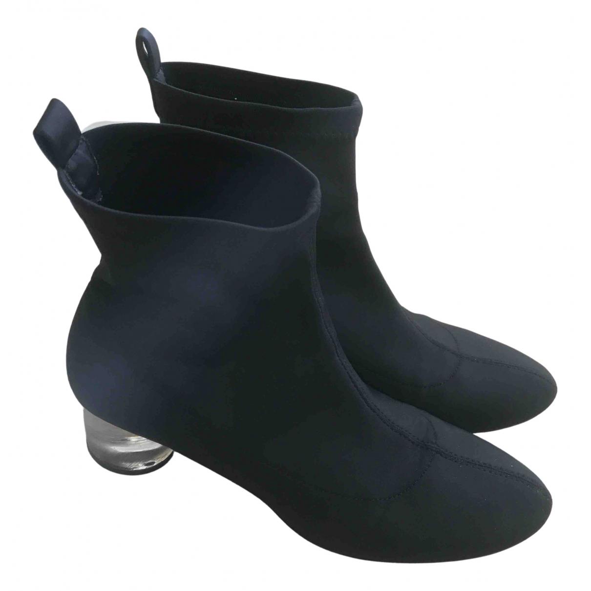 Zara N Black Cloth Ankle boots for Women 39 EU