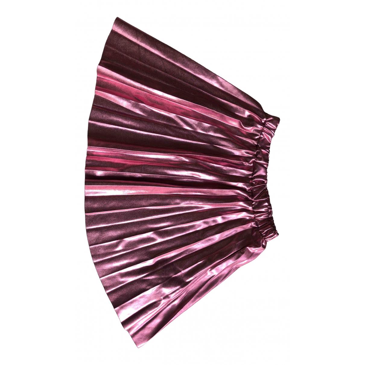 Zara \N Rocke in  Rosa Polyester