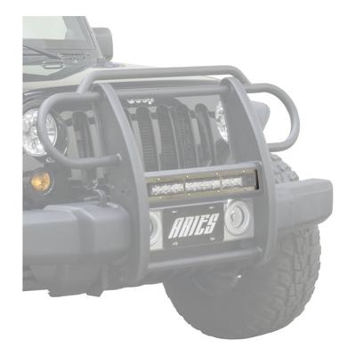 Aries Offroad Pro Series Grille Guard Cover Plate (Stainless Steel) - PJ20OS