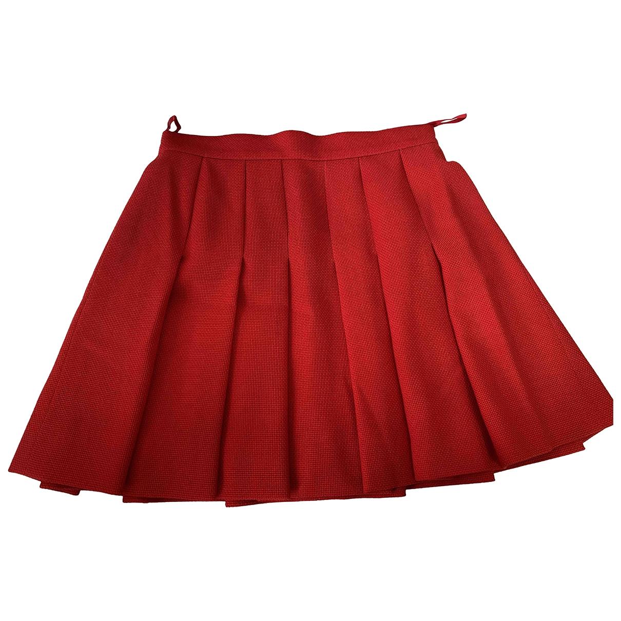 Chanel \N Rocke in  Rot Wolle