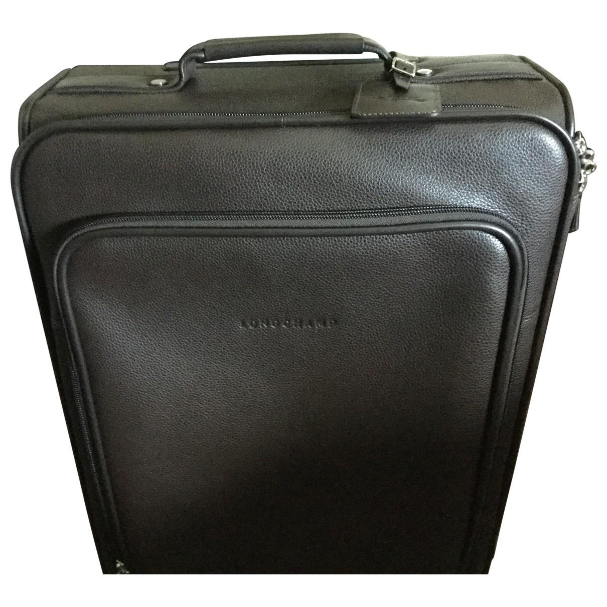 Longchamp \N Brown Leather Travel bag for Women \N