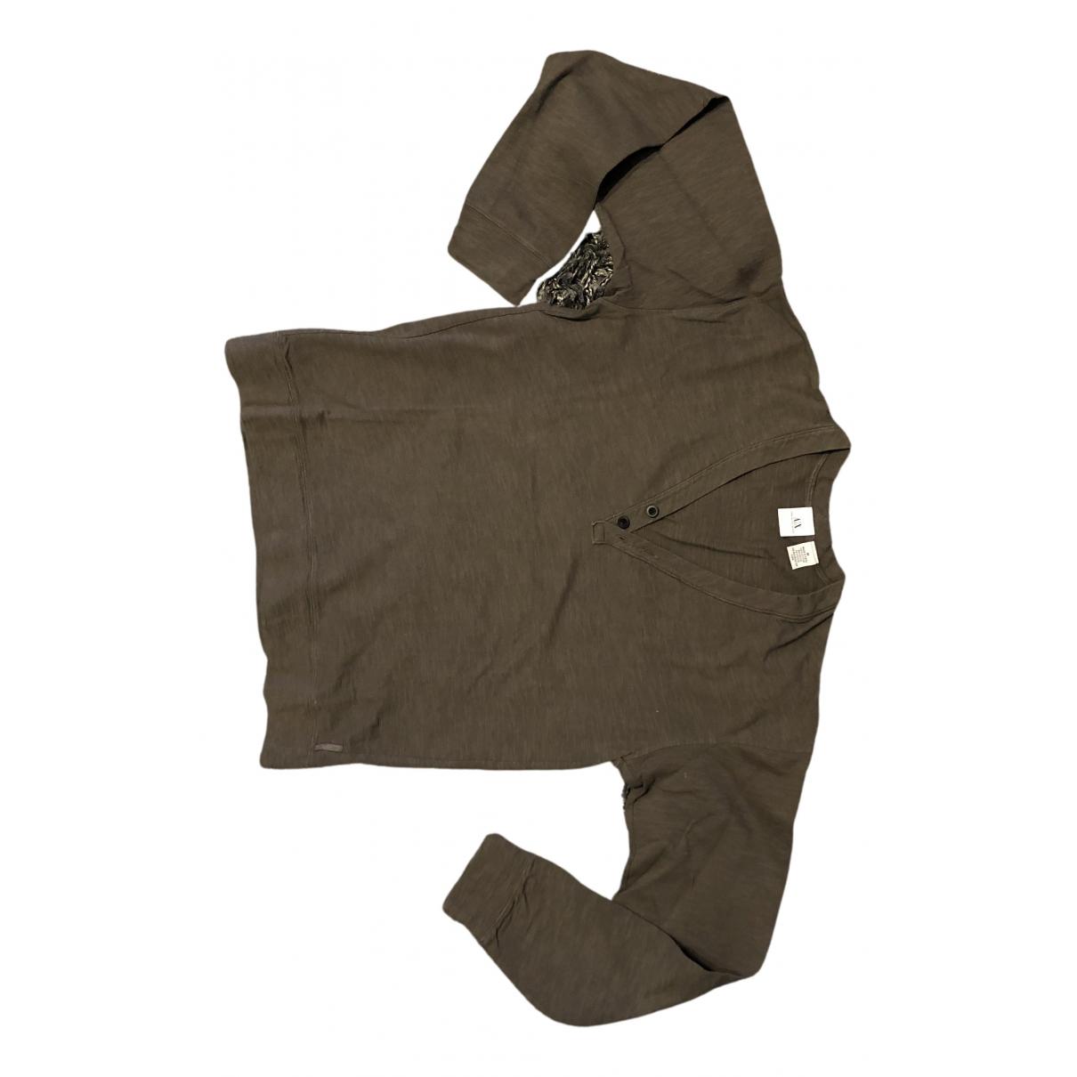 Emporio Armani \N Pullover.Westen.Sweatshirts  in  Braun Baumwolle