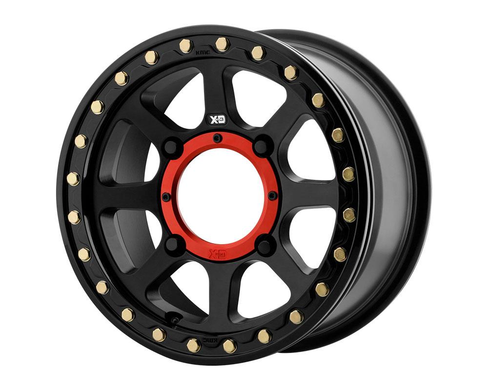 XD ATV XS234 Addict 2 Beadlock Wheel 14x10 4x4x137 +0mm Satin Black