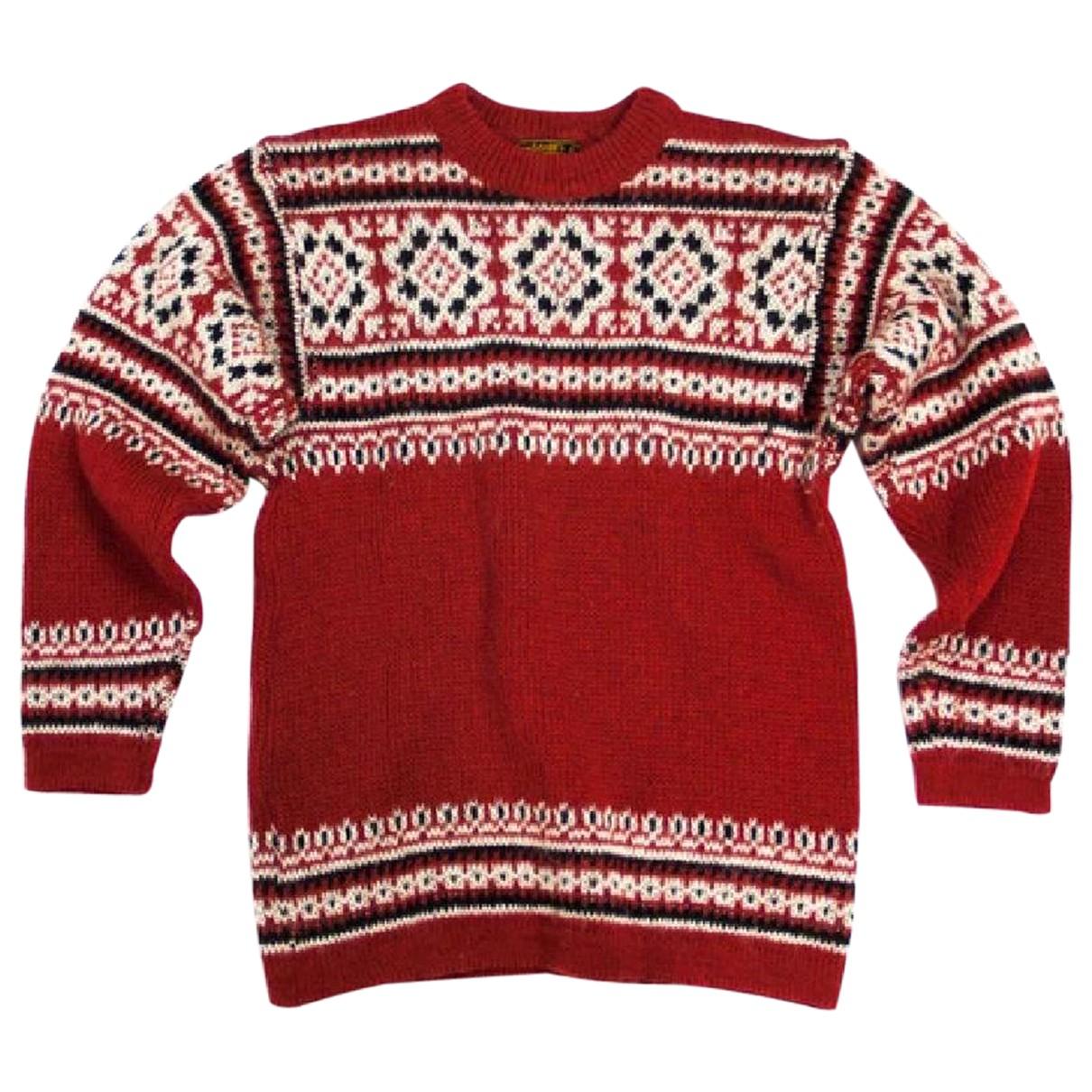 Autre Marque - Pull   pour femme en laine - rouge