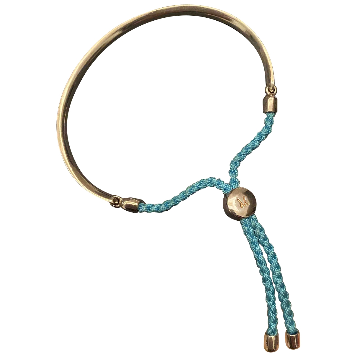 Monica Vinader \N Blue Silver bracelet for Women \N