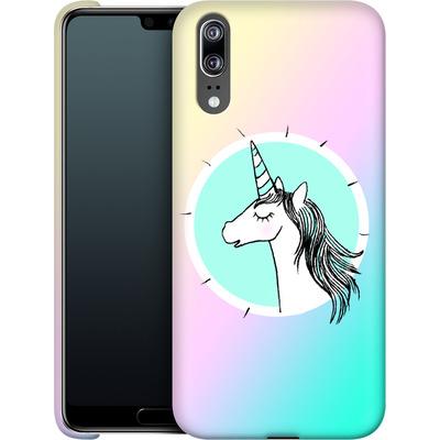 Huawei P20 Smartphone Huelle - Happiness Unicorn von caseable Designs